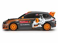 #113083 SUBARU WRX STI BUCKY LASEK PAINTED BODY (150mm) (Traxxas Associated HPI)