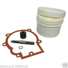 KENWOOD KMIX GEARBOX DRIVE PINION ASSEMBLY, GASKET & 100G TUB FOODSAFE GREASE