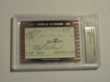 2013 Leaf Legends of the Gridiron Weeb Ewbank NY Jets Auto 1/1