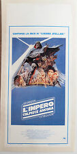 Star Wars - THE EMPIRE STRIKES BACK poster linen Backed
