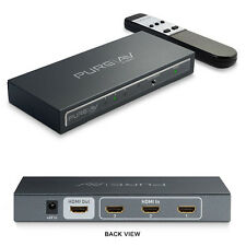 BELKIN Pure AV AV24502 HDMI Interface 3-to-1 Video Switch with Remote - 1080p