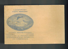1913 Mint France Airmail Postal Stationery Postcard 10 Franc War Orphans