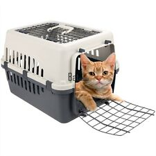 18Inch Pet Carrier Two Door Top Load Pet Kennel Travel Crate Dog Cat Puppy Cage