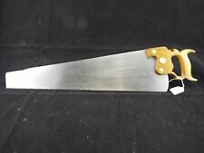 "Browns #3, 24"" 9 PP Panel Saw Key Stone Saw Works, Disston, Sharpened, (inv1075)"