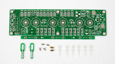 Nixie Clock kit IN-14 OR IN-16 PCB ONLY equipped with Color LED backlit display
