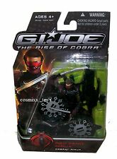 G.I. JOE THE RISE OF COBRA MOVIE SERIES RED FANG NINJA FIGURE HASBRO