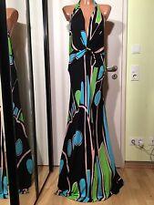 ISSA LONDON Kleid,Gr.40(US 10),100%RAYON,Bodenlang,Rückenfrei,Top Zustand
