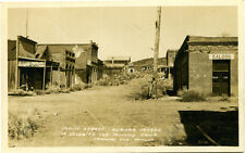 Postcard of Main Street of a Deserted Old Mining Camp in Aurora, Nevada