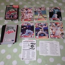 BASEBALL Major League 1995 ACES Collectable Playing Cards BICYCLE Sports Collect