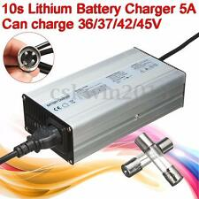 For 36V 37V 42V 45V Lithium ion Lion Battery Universal 100-240V 5A 10s Charger
