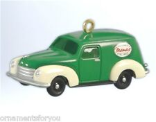 Hallmark 2012 Mama's Delivery Van Miniature Nostalgic Houses Ornament