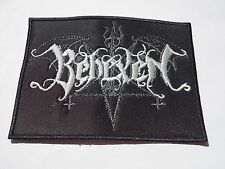 BEHEXEN EMBROIDERED LOGO BLACK METAL PATCH
