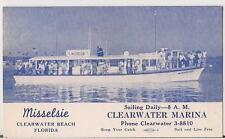 Misselsie Twin Diesel Power Deep Sea Fishing Boat CLEARWATER FL Vintage Postcard