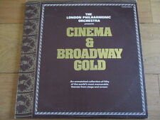 THE LONDON PHILHARMONIC ORCHESTRA - CINEMA & BROADWAY GOLD - 2xLP - RTD 2036