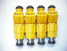 ( Set of Four ) Flow Matched Refurbished Fuel Injectors # 0280155700 Ford Bosch
