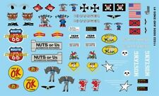 Gofer Racing Decals 1:24-1:25 Odds and Ends Logo Decal Sheet 11022 GOF11022