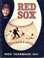 1963 Boston Red Sox Yearbook NICE!