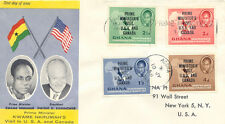 2019 GHANA 1958 Dr. Kwame Nkrumah - Prime Ministers Visit in USA and Canada FDC