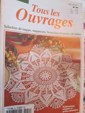 Sabrina-Tous Les Ouvrages En Crochet Magazine #54- Napperons/Nappe/Brise-Bise/Ce