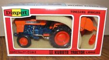 *Kubota L245 Utility Tractor & Rotary Tiller Toy Set 1/23 Diapet Die Cast Metal