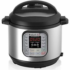 Instant Pot IP-DUO60 Stainless Steel 6-Quart Multi-Functional Pressure Cooker