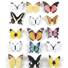 30X Home Sticker Art Design Decal Wall Stickers Room Decorations 3D Butterfly FO