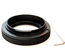 Quality T2 Lens to CANON EOS EF Mount Adapter w/Tool (for EOS range DSLR cameras