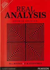 Real Analysis by Halsey Royden and Patrick Fitzpatrick