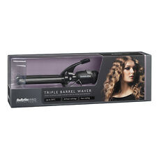 Babyliss Pro Triple Barrel Waver-Black (SAMEDAY DISPATCH)OFFICIAL BABYLISS STOCK