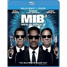 MIB 3 MEN IN BLACK III NEW BLU RAY DISC MOVIE + DVD WILL SMITH,TOMMY LEE JONES