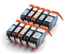 10 PGI-520 CLI-521 Compatible Ink Cartridges for CANON MP540 MP550 MP560 - 2 Set