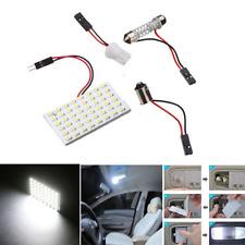 2pc Lot 48 SMD COB LED T10 4W 12V Light Car Interior Panel Lights Dome Lamp Bulb