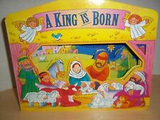 A King is Born Board Book Standard Publishing Company 1996 - Illustrated