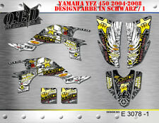 MOTOSTYLE-MX DEKOR KIT ATV YAMAHA YFZ 450 2004-2014 GRAPHIC KIT E3078 B