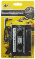 CASSETTA Adattatore per tutti iPod iPhone Samsung MP3 CD MD KIT AUTO 3,5 mm Adattatore Auto