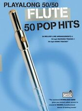 Playalong Flute 50 Pop Hits Bruno Marrs Play Flute Music Book Download Card