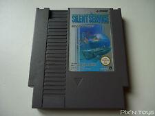 NINTENDO NES / Silent service / [ NES-IV-EEC ]