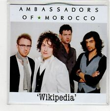 (FV56) Ambassadors of Morocco, Wikipedia - 2010 DJ CD