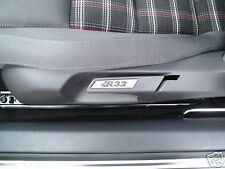 VW GOLF MK5 MK6 R32 ALLOY TRIM SEAT INSERTS PAIR GTI