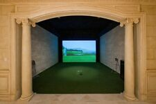 "86"" X 100"" GOLF Simulator Impact Screen Material, projection material"