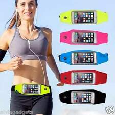 Jogging Sports Waist Belt Pouch Bag Case For Gadgets Mobile Phone (Red)