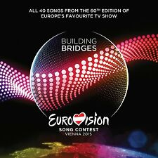 Various Artists - Eurovision Song Contest, Vienna 2015 - UK CD album 2015