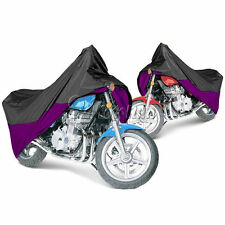 XL Purple MOTORCYCLE STORAGE COVER FOR HONDA SHADOW ACE SPIRIT SABRE VT 600 750