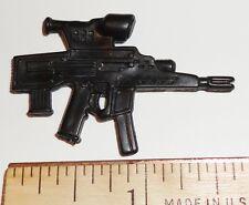 BIN A26  G I JOE Accessory  Black Assault Gun  2003 Flint  Red Spot ++ (4 FOR $1
