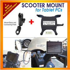 motorcycle/scooter mount+Universal Holder for Tablet PC,as Galaxy Tab8.6, others