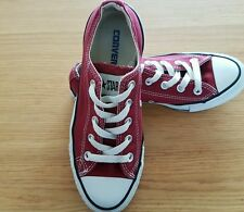 Converse all star low tops trainers size:4 UK