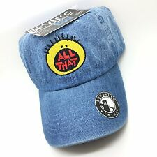 Denim All That Dad Cap Hat Exclusive 90s Stitched High Quality
