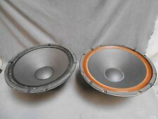 """2"" RARE Vintage 15"" Inch Jensen  P15LF Woofers Speakers Drivers (#3)"