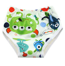 Alva Reusable printed Organic All In One Baby Training Pants Larger Size