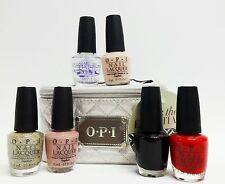 PACK THE ESSENTIALS - OPI Nail Polish E05,F16,N25,S86,W42/Case Full Size